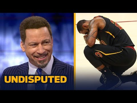 Chris Broussard on LeBron's legacy after Warriors swept Cavs in 2018 NBA Finals | NBA | UNDISPUTED