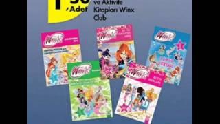 21 Ocak Perşembe Günü Winx Club Boyama Ve Aktivite Kitapları A101