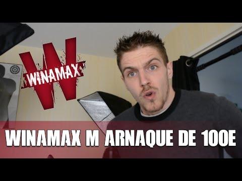WINAMAX M'arnaque de 100€ au paris sportif