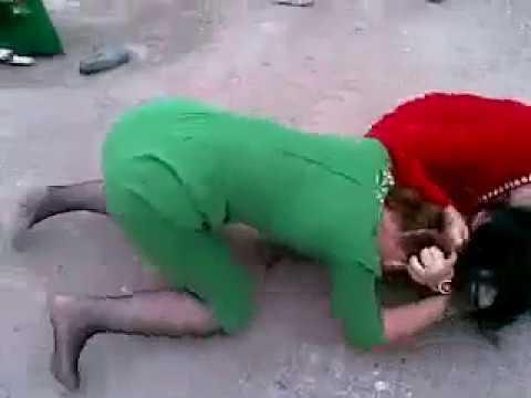 Two Arabian girls fighting for love in dubai uae
