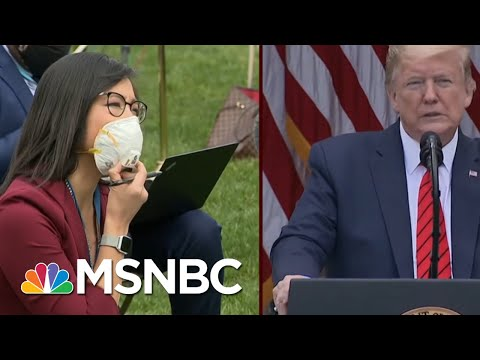 Trump Abruptly Ends News Briefing After Clash With Reporters | Morning Joe | MSNBC