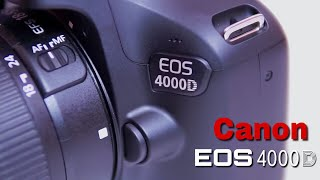 Can it be the replacement of 1300D? Cheapest DSLR Canon 4000D!!