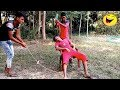 Top Funny Video 2018 - Village Funny Boys ( Part 7 ) Lungi Gang