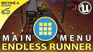 Main Menu - #21 Creating A MOBILE Endless Runner Unreal Engine 4