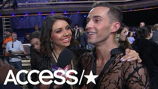 'DWTS': Adam Rippon Dishes On Competing Against Fellow Olympian Mirai Nagasu | Access