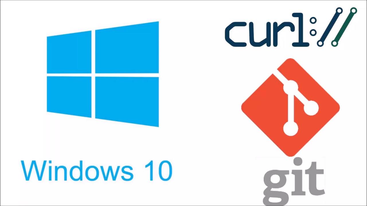 curl on Windows 10