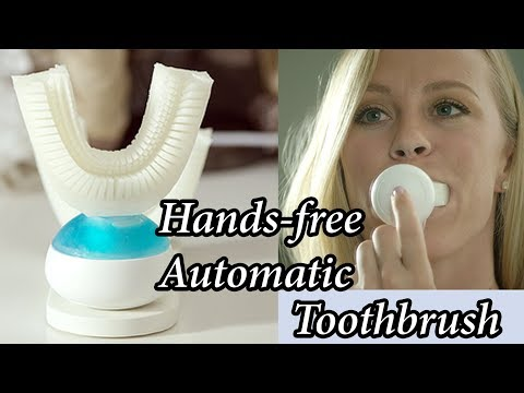 Amabrush - A Hands-free Automatic Toothbursh Cleans Teeth in 10 Seconds and Saves Valuable Time.