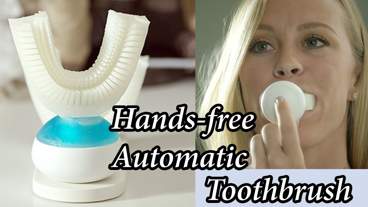 Amabrush A Hands Free Automatic Toothbursh Cleans Teeth In 10