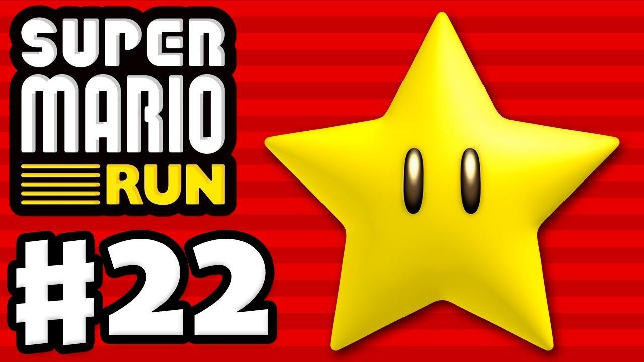 Super Mario Run - Gameplay Walkthrough Part 22 - World Star Challenges and  Pink Coins! (iOS)