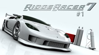 Ridge Racer 7 Longplay #1 (Playstation 3)