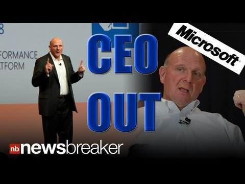 BREAKING: Microsoft CEO Steve Ballmer to Retire in Next 12 Months