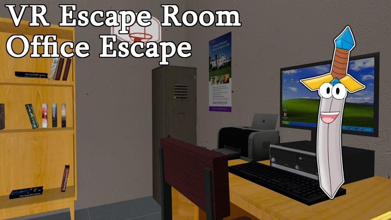 MY FIRST ESCAPE ROOM! - VR Escape Room: Office Escape - itch.io VR ...