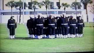 U.S. Navy Recruit Bluejacket Chorus RTC Orlando, FL March 4, 1994.