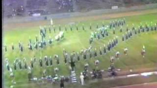 Los Altos H.S. Marching Band @ 1987 Azusa Field Tournament Pt.2