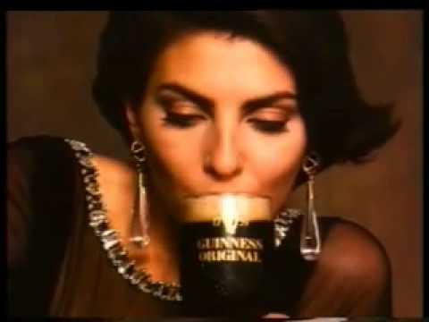 Tim Curry & Gina Bellman  Guinness Original  UK TV Advert  1993  Terence Donovan  Magician