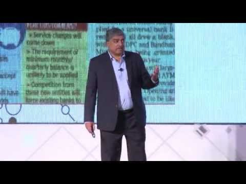Disruption in Financial Services: Nandan Nilekani at TiE Lea