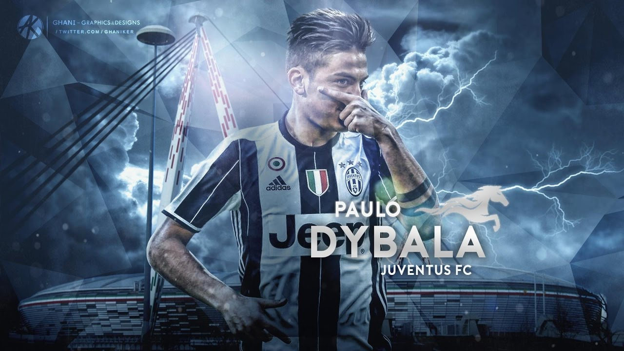 Paulo Dybala Wallpaper Juventus 2016 17 Speed Art
