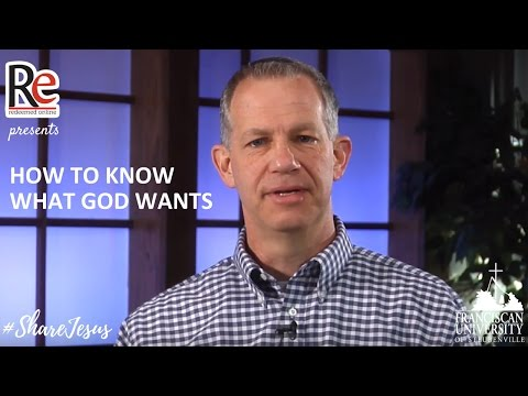 How to Know What God Wants - Jim Beckman #ShareJesus Lent Video 28