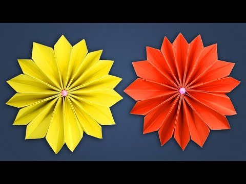 How To Make Paper Flowers At Home for Room Decorations