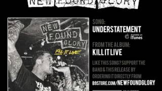 Understatement is a live track off the upcoming album 'Kill It Live...