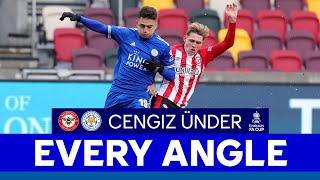 EVERY ANGLE | Cengiz Ünder vs. Brentford | 2020/21