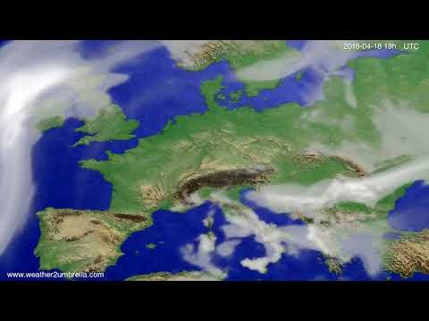 Cloud forecast Europe 2018-04-15