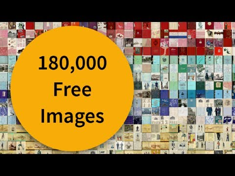 New York Public Library Digital Images 180,000 Free Images