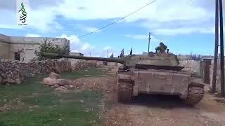 Бой в Алеппо, Боевики уничтожают танк