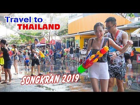 DU LỊCH THÁI LAN ▶ Đột nhập Lễ Té Nước Thái Lan vui nhất thế giới SONGKRAN 2019