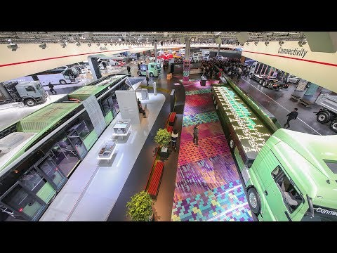 MAN Truck & Bus exhibition stand | IAA -  International Motor Show