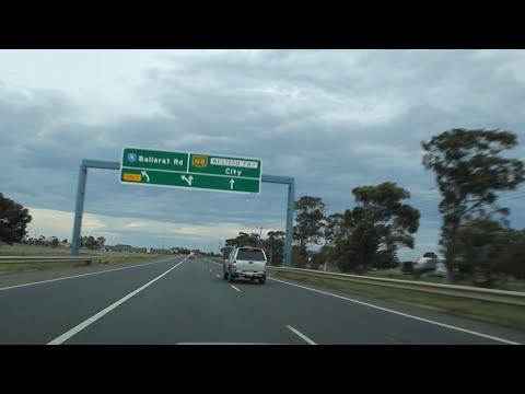 Western Freeway - Beaufort to Melbourne (via Ballarat), Victoria