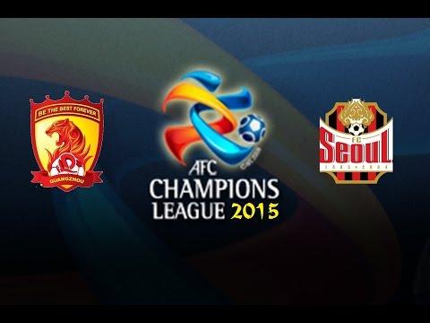 Guangzhou E. - FC Seoul [PES 2015] | AFC Champions League 2015 (First Match - Group H) | CPU Vs. CPU