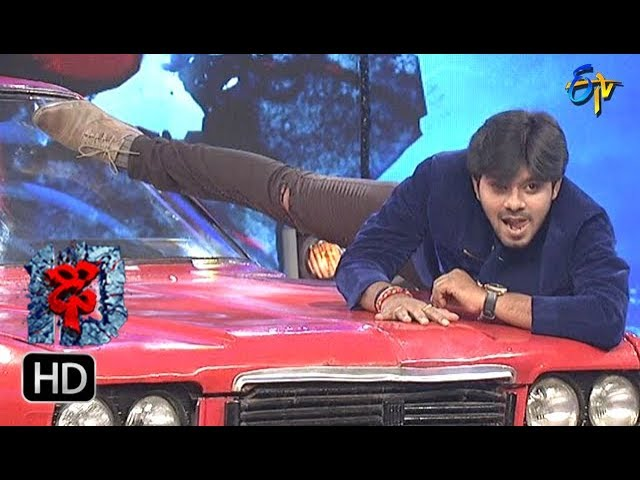 Sudheer   Rashmi   Hemanth   Varshni   Funny Joke   Dhee 10   14th March 2018  ETV Telugu