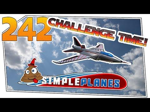 Simple Planes #242.1 - Challenge Time! Schwenkflügler | Let's Play Simple Planes german deutsch HD