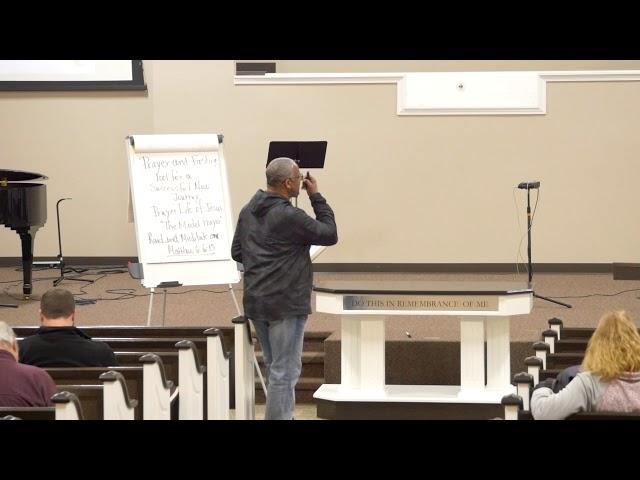 2018-02-20 - Wednesday Night Disciples - Dr Robert Loggins