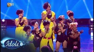 Top 16 Girls – 'Only Girl In The World' / 'We Found Love' – Idols SA   Mzansi Magic