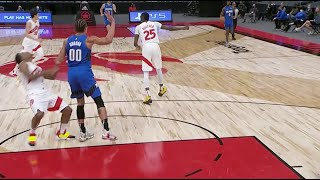 Aaron Gordon Fouls Kyle Lowry Hard As They Revisit NBA Bubble Beef