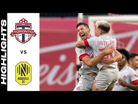 Toronto Nashville SC Goals And Highlights