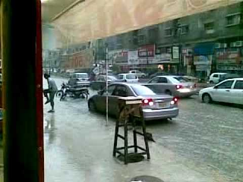 A rainy day in karachi
