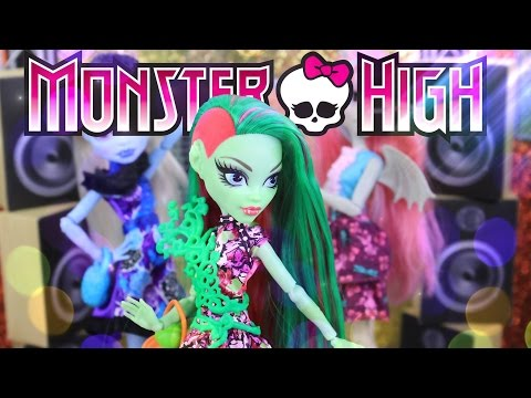 Unbox Daily: Monster High Party Ghouls | Venus McFlytrap | Abbey Bominable - 4K