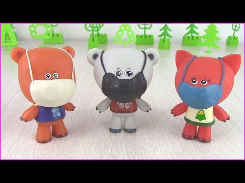 Ми-ми-мишки в Масках на Карантине! Мультики для детей с игрушками новая серия
