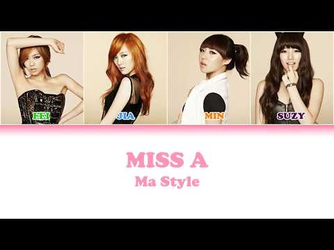 miss a ma style