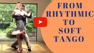 Tango Boleo Technique: Boleos and parada (change dynamics)
