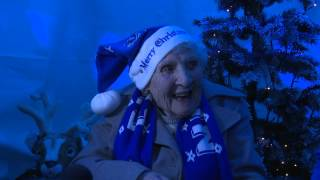 Day 5: Roberto Martinez pays a heart-warming visit to 93-year-old Annie.