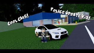 Ultimate Driving's New Update ( Police Version 2 ) (Roblox)