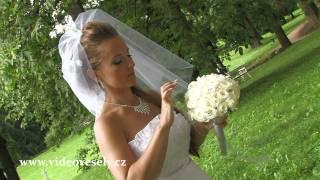 Ukázka svatby - zpomalovačka (bez kolorizace)
