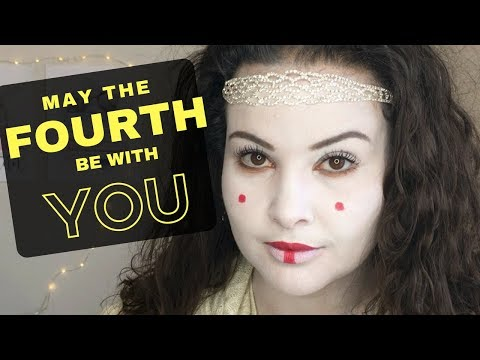 PADME AMIDALA MAKEUP LOOK | STAR WARS DAY | May The Fourth Be With You