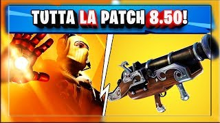 ALL PATCH NOTES 8.50 FORTNITE! NEW AVENGERS MODE! NEW WEAPON! (season 8 fortnite)