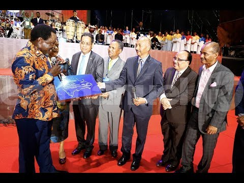 DAY 2: THE DOMINICIAN REPUBLIC CRUSADE With  PROPHET TB JOSHUA