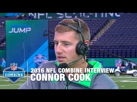 Connor Cook (Michigan St., QB) Compares His Game To Tom Brady | 2016 NFL Combine Interviews